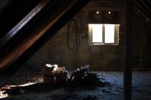 Dachboden mit Spotlight