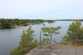 Ausblick deluxe, Schären vor Stockholm