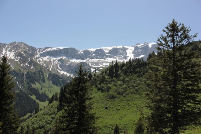 Auf dem Weg zur Lindauer Hütte
