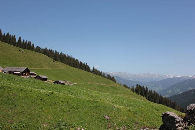 Zwischen Gauertal und Lindauer Hütte