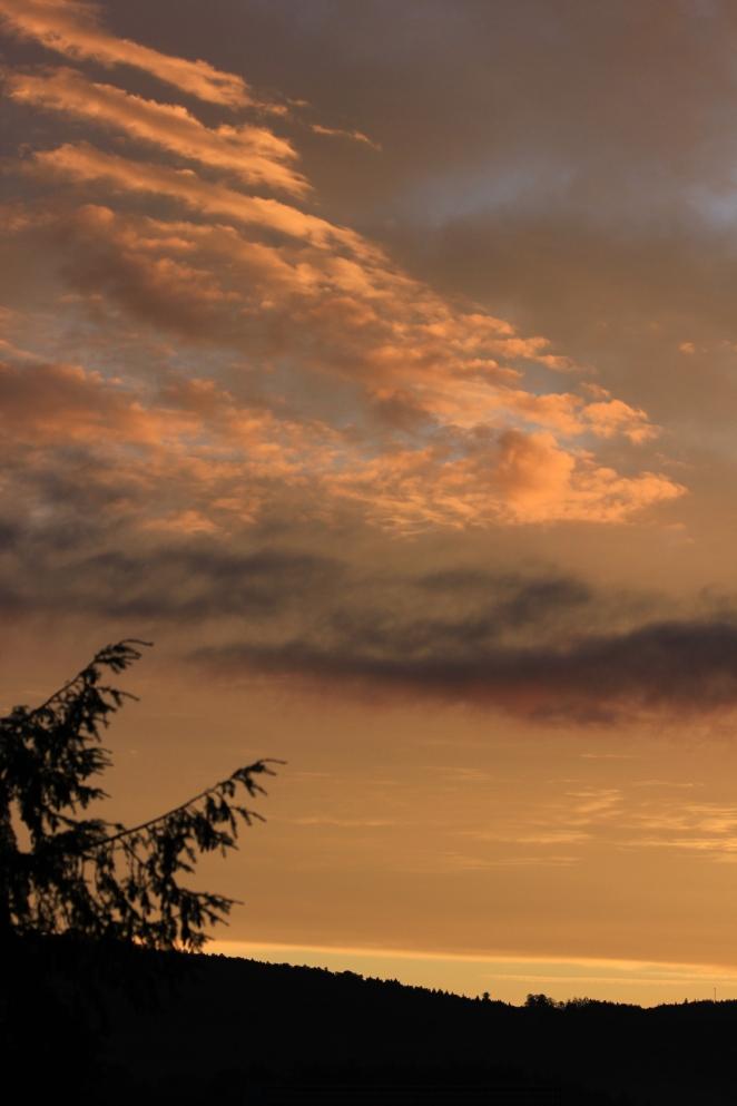 Zauberhafte Wolken