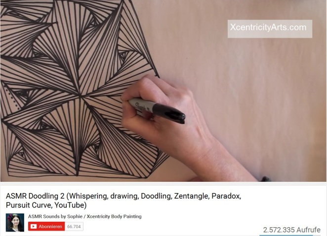 ASMR Doodling (Zeichnen)